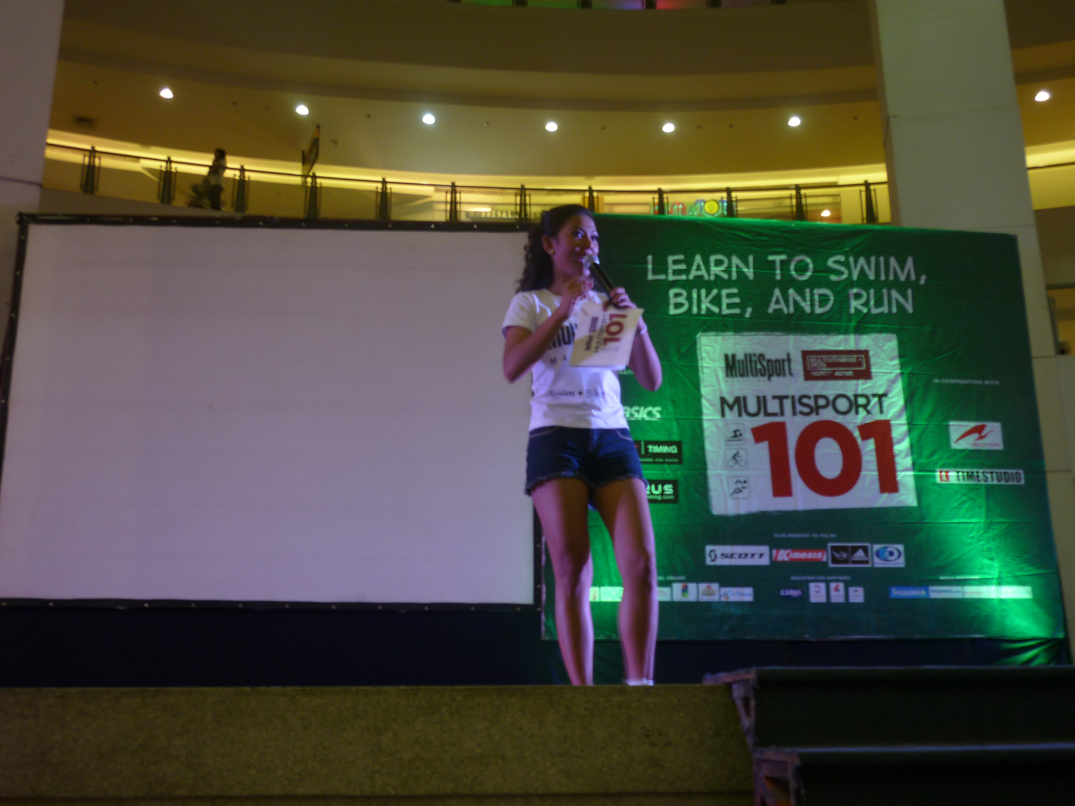After the DMPI Fun Run, my next stop was in Trinoma Activity Center ...